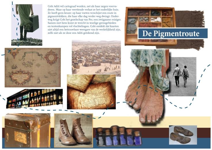 Moodboard blog Cover De Pigmentroute